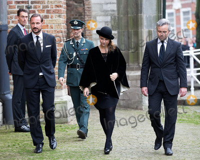 Ari Behn Photo - Prince Haakon and Martha Louise and Ari Behn attending the Memorial service for Prince Friso in the Oude Kerk (Old Church) in Delft 02112013Credit NieboerPPEface to face- No Rights for Netherlands -