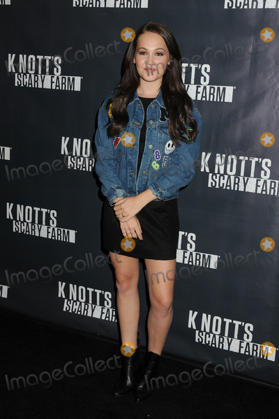Kelli Berglund Photo - 1 October 2015 - Buena Park California - Kelli Berglund Knotts Scary Farm Black Carpet Event held at Knotts Berry Farm Photo Credit Byron PurvisAdMedia