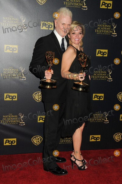 Anthony Geary Photo - 26 April 2015 - Burbank California - Anthony Geary Maura West The 42nd Annual Daytime Emmy Awards - Press Room held at Warner Bros Studios Photo Credit Byron PurvisAdMedia