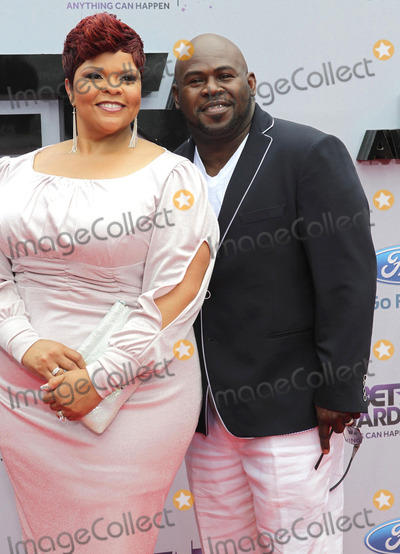 Tamela Mann Photo - 30 June 2013 - Los Angeles California - Tamela Mann and David Mann 2013 BET Awards held at Nokia Theatre LA Live Photo Credit Kevan BrooksAdMedia