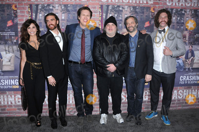 Artie Lange Photo - 15 February 2017 - Hollywood California - Gina Gershon George Basil Pete Holmes Artie Lange Judd Apatow TJ Miller  Los Angeles premiere of HBOs Crashing held at Avalon Hollywood Photo Credit Birdie ThompsonAdMedia