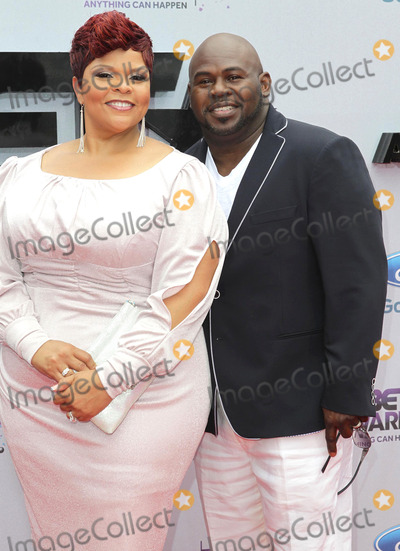 David Mann Photo - 30 June 2013 - Los Angeles California - Tamela Mann and David Mann 2013 BET Awards held at Nokia Theatre LA Live Photo Credit Kevan BrooksAdMedia
