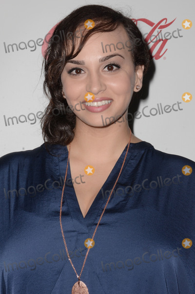 Aline Elasmar Photo - 29 August 2015 - Beverly Hills California - Aline Elasmar Arrivals for the Children Uniting Nations and National Coalition Against Domestic Violence Benefit held at a Private Residence Photo Credit Birdie ThompsonAdMedia