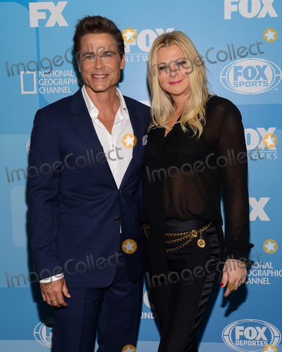 Sheryl Berkoff Photo - 11 May 2015 - New York New York- Rob Lowe Sheryl Berkoff FOX 2015 Upfront Party at Wollman Rink Photo Credit Mario SantoroAdMedia