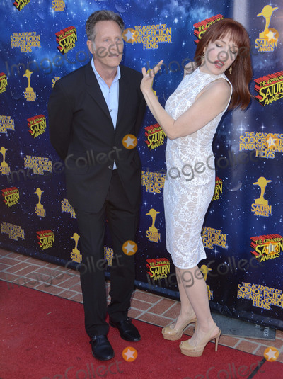 Amy Yasbeck Photo - 22 June 2016 - Burbank Steven Weber Amy Yasbeck Arrivals for the 42nd Annual Saturn Awards held at The Castaway Photo Credit Birdie ThompsonAdMedia
