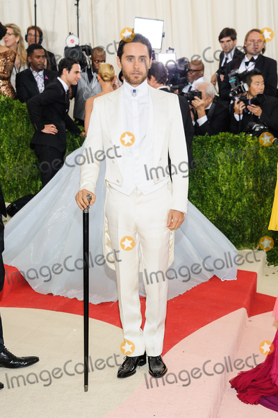 Jared Leto Photo - 02 May 2016 - New York New York - Jared Leto  Metropolitan Museum of Art Costume Institute Gala Manus x Machina Fashion in the Age of Technology Photo Credit Christopher SmithAdMedia
