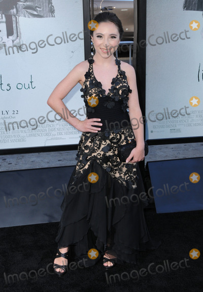 Ava Cantrell Photo - 19 July 2016 - Hollywood California Ava Cantrell The Los Angeles Premiere of Lights Out held at TCL Chinese Theater Photo Credit Birdie ThompsonAdMedia