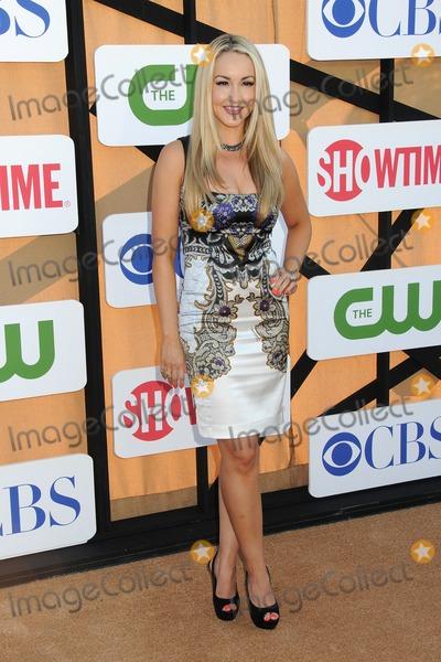 Aria Johnson Photo - 29 July 2013 - Beverly Hills California - Aria Johnson CBS Showtime CW 2013 Summer Stars Party held at 9900 Wilshire Blvd Photo Credit Byron PurvisAdMedia