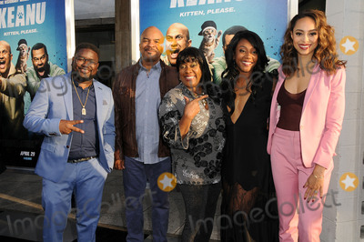Amber Stevens Photo - 27 April 2016 - Hollywood California - Lil Rel Howery david Allan Grier Loretta Divine Tiffany Haddish Amber Stevens-West Arrivals for the Los Angeles Premiere of Warner Bros Keanu held at ArcLight Hollywood Photo Credit Birdie ThompsonAdMedia