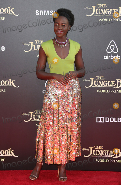 Lupita Nyongo Photo - 04 April 2016 - Hollywood California - Lupita Nyongo The Jungle Book Los Angeles Premiere held at the El Capitan Theatre Photo Credit SammiAdMedia