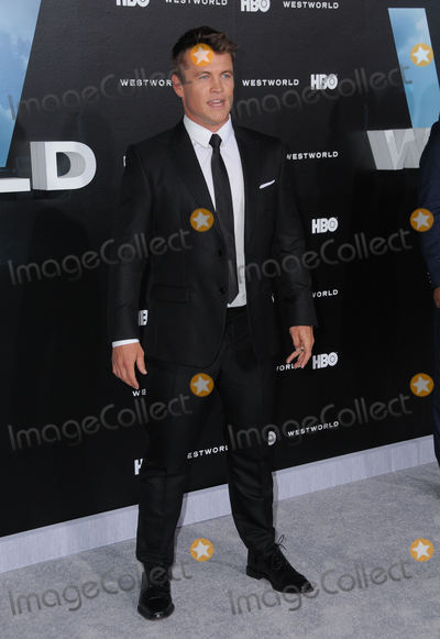 LUKE HEMSWORTH Photo - 28 September 2016 - Hollywood California Luke Hemsworth Los Angeles premiere of HBOs new drama series Westworld held at The TCL Chinese Theater Photo Credit Birdie ThompsonAdMedia