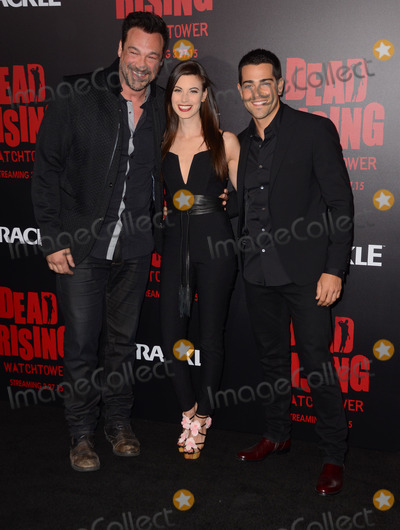 Kim Novak Photo - 11 March 2015 - Los Angeles California - Aleks Paunovic Meghan Ory Jesse Metcalfe  Arrivals for Crackles world premiere original feature film Dead Rising Watchtower held at the Kim Novak Theater at Sony Pictures Studios Photo Credit Birdie ThompsonAdMedia