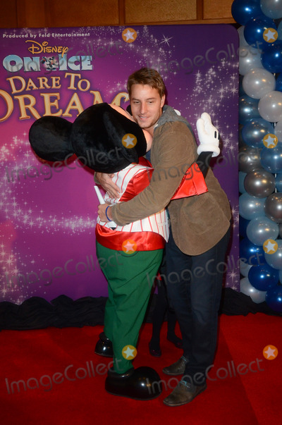 Justin Hartley Photo - 12 December 2012 - Los Angeles California - Justin Hartley Red Carpet Celebrity Premiere of Disney On Ice presents Dare to Dream held at the LA Kings Holiday Ice at LA LIVE  Nokia Plaza Photo Credit Tonya WiseAdMedia