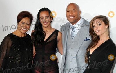 Ata Johnson Photo - 1 April 2015 - Hollywood California - Ata Johnson Simone Alexandra Johnson Dwayne Johnson Lauren Hashian Furious 7 Los Angeles Premiere held at the TCL Chinese Theatre Photo Credit Byron PurvisAdMedia
