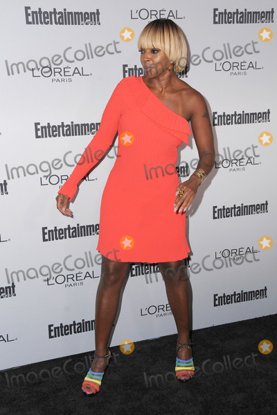Mary J Blige Photo - 16 September 2016 - West Hollywood California - Mary J Blige 2016 Entertainment Weekly Pre-Emmy Party held at Nightingale Plaza Photo Credit Birdie ThompsonAdMedia