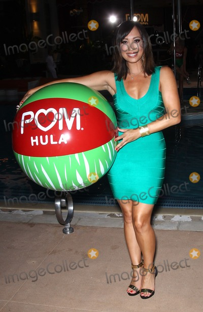 Karina Smirnoff Photo - 29 August 2013 - Las Vegas NV -  Cheryl Burke Cheryl Burke and Karina Smirnoff celebrate the launch of POM Wonderfuls Juice Blends at Encore Beach Club at The Wynn Las Vegas Cheryl and Karina also led a successful attempt to set a new Guinness Book of Worlds Records for the Longest Beach ball BouncePhoto Credit mjtAdMedia
