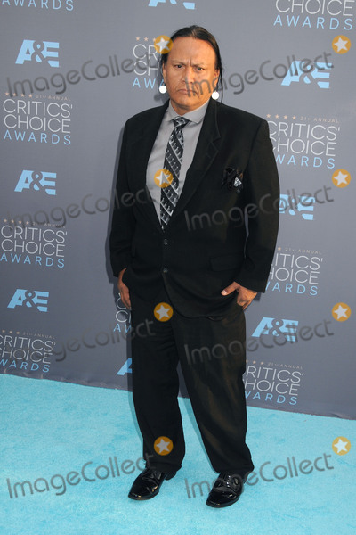 Arthur Redcloud Photo - 17 January 2016 - Santa Monica California - Arthur RedCloud 21st Annual Critics Choice Awards - Arrivals held at Barker Hangar Photo Credit Byron PurvisAdMedia