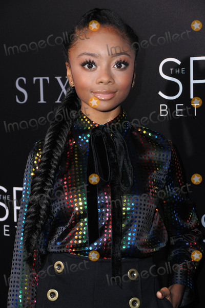 Skai Jackson Photo - 17 January 2017 - Hollywood California - Skai Jackson 2017 The Space Between Us special Los Angeles screening held at Arclight Hollywood Photo Credit Birdie ThompsonAdMedia