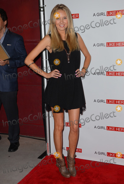 Melissa Ordway Photo - 27 March 2015 - Hollywood California - Melissa Ordway Arrivals for the Los Angeles premiere of A Girl Like Her held at ArcLight Hollywood Photo Credit Birdie ThompsonAdMedia
