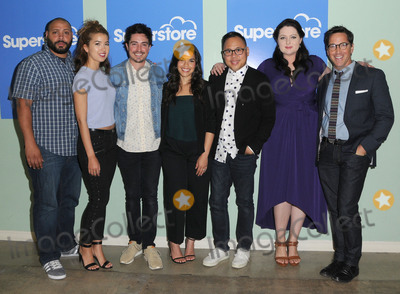 AMERICA FERERRA Photo - 07 June 2016 - Hollywood Colton Dunn Nichole Bloom Ben Feldman America Fererra Nico Santos Lauren Ash Dan Bucatinsky  Arrivals for NBCs Superstore FYC copyright UBC comedy panel series held at the UCB Sunset Theater Photo Credit Birdie ThompsonAdMedia