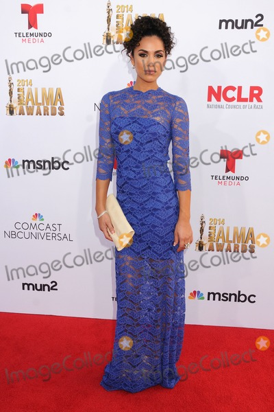 Andrea Sixtos Photo - 10 October 2014 - Pasadena California - Andrea Sixtos NCLR ALMA Awards 2014 - Arrivals held at the Pasadena Civic Auditorium Photo Credit Byron PurvisAdMedia
