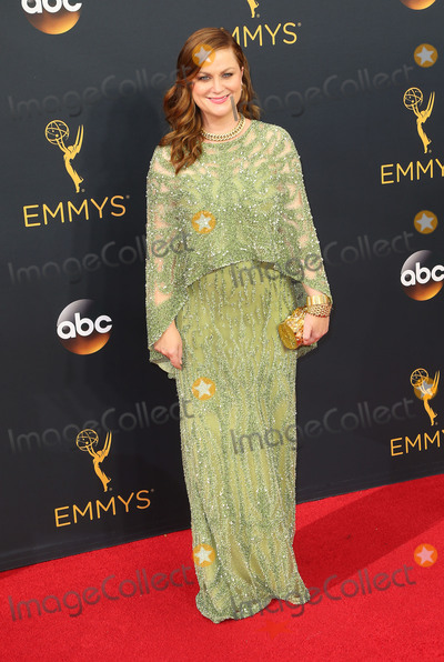 Amy Poehler Photo - 18 September 2016 - Los Angeles California - Amy Poehler 68th Annual Primetime Emmy Awards held at Microsoft Theater Photo Credit AdMedia