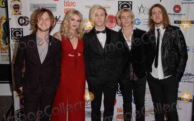 Ross Lynch Photo - 16 November - Hollywood Ca - R5 Rocky Lynch Rydel Lynch Ross Lynch Riker Lynch Ellington Ratliff Arrivals for the World Choreography Awards held at The Montalban Theater Photo Credit Birdie ThompsonAdMedia