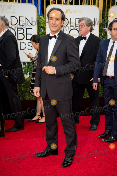 Alexandre Desplat Photo - Nominated for BEST ORIGINAL SCORE  MOTION PICTURE for The Danish Girl Alexandre Desplat attends the 73rd Annual Golden Globes Awards at the Beverly Hotel in Beverly Hills CA on Sunday January 10 2016 Photo Credit HFPAAdMedia