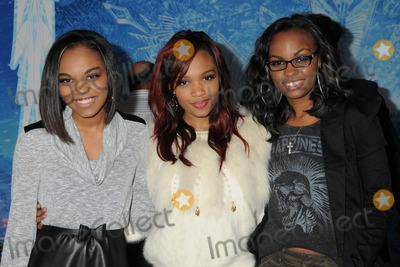 McClain Sisters Photo - 19 November 2013 - Hollywood California - China Anne McClain Sierra McClain Lauryn McClain McClain Sisters Frozen Los Angeles Premiere held at the El Capitan Theatre Photo Credit Byron PurvisAdMedia