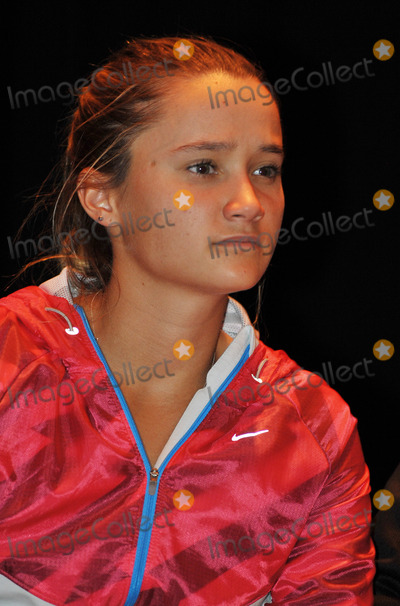 Lauren Davis Photo - 27 October 2011 - Cleveland OH - Pro tennis player LAUREN DAVIS joins her fellow tennis players on stage for a charity auction before the annual World TeamTennis Smash Hits charity night of tennis in Cleveland for the first time in the events 19-year history Tennis greats Billie Jean King Andy Roddick Martina Navratilova John McEnroe Mark Knowles Amelie Mauresmo Coco Vandeweghe Jan-Michael Gambill and Cleveland area native Lauren Davisjoined other top players for WTT Smash Hits presented held at Public Hall Photo Credit Jason L NelsonAdMedia