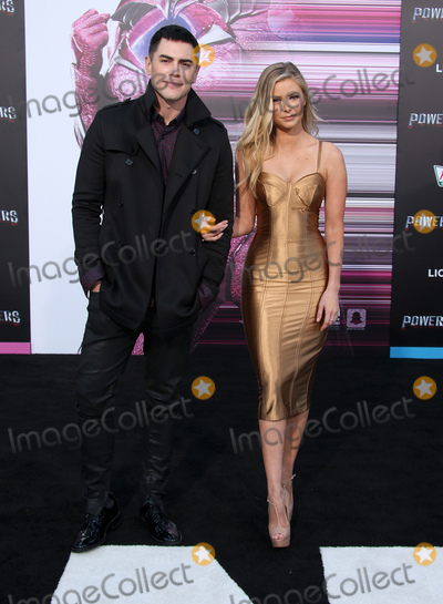 Ariana Madix Photo - 22 March 2017 -  Westwood California - Tom Sandoval Ariana Madix Premiere Of Lionsgates Power Rangers held at The Westwood Village Theatre Photo Credit Faye SadouAdMedia
