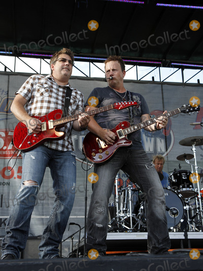 Dean Sams Photo - August 31 2012 - Atlanta GA - Country supergroup Lonestar performed in downtown Atlanta as part of the Budweiser Downtown Touchdown Festival in Centennial Park Reunited with lead singer Richie McDonald Lonestar performed their hits as well as material from their upcoming release Photo credit Dan HarrAdMedia