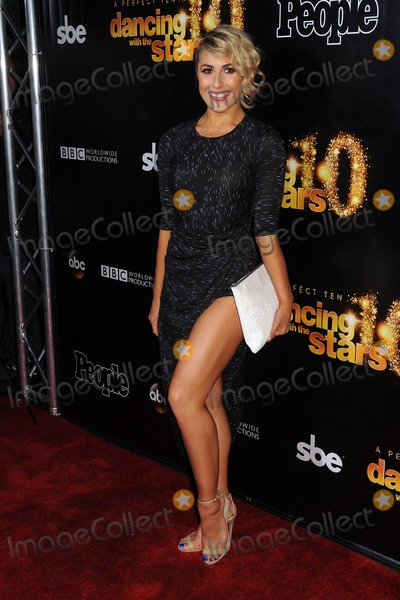 Emma Slater Photo - 21 April 2015 - Los Angeles California - Emma Slater Dancing With the Stars 10th Anniversary Party held at Greystone Manor Photo Credit Byron PurvisAdMedia