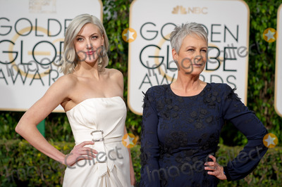 Jamie Lee Curtis Photo - Annie Guest and Jamie Lee Curtis arrive at the 73rd Annual Golden Globe Awards at the Beverly Hilton in Beverly Hills CA on Sunday January 10 2016 Photo Credit HFPAAdMedia