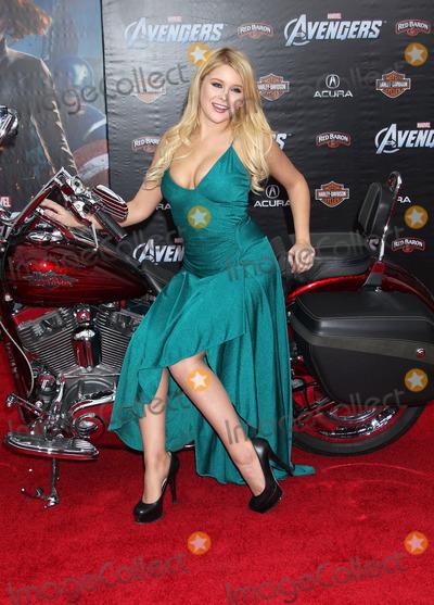 Renee Olstead Photo - 11 April 2012 - Hollywood California - Renee Olstead Marvels The Avengers World Premiere held at the El Capitan Theatre Photo Credit Russ ElliotAdMedia