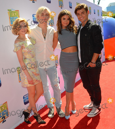 Ross Lynch Photo - 22 June 2015 - Burbank California - Grace Phipps Ross Lynch Maia Mithcell Garrett Clayton Arrivals for the Los Angeles premiere of Disneys Teen Beach 2 held at The Walt Disney Studios Photo Credit Birdie ThompsonAdMedia