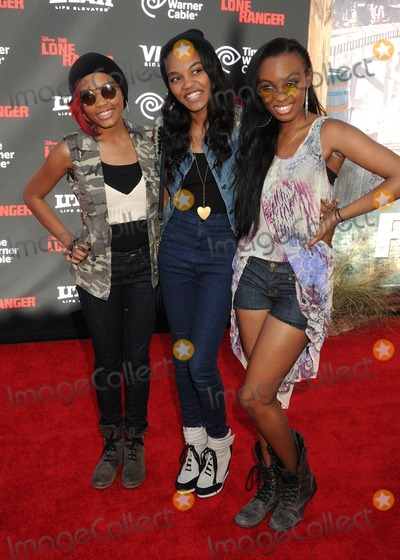 McClain Sisters Photo - 22 June 2013 - Anaheim California - Lauryn Alisa McClain China Anne McClain Sierra Aylina McClain McClain Sisters The Lone Ranger World Premiere held at Disneys California Adventure Park Photo Credit Byron PurvisAdMedia