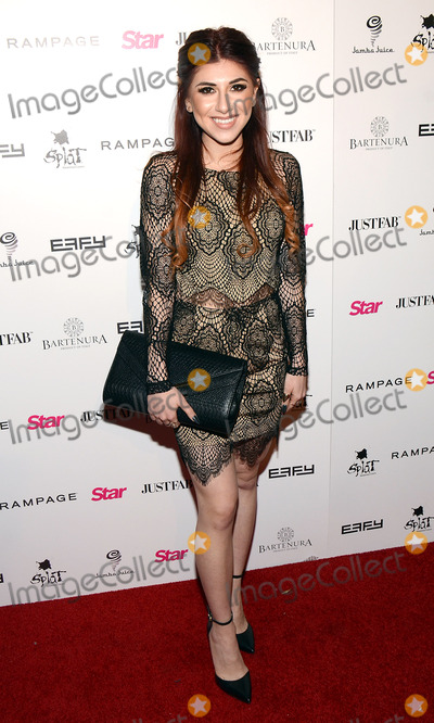 Alexa Ferr Photo - 09 October 2014 - Los Angeles California - Alexa Ferr Star Magazines Scene Stealers event held at Lure Nightclub Photo Credit Tonya WiseAdMedia