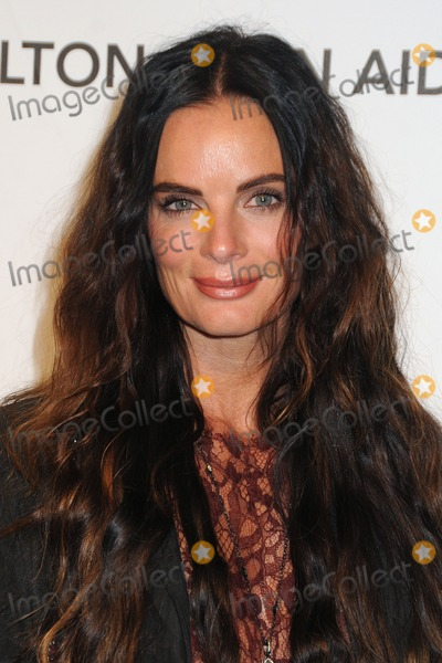 Gabrielle Anwar Photo - 24 February 2013 - West Hollywood California - Gabrielle Anwar 21st Annual Elton John Academy Awards Viewing Party held at West Hollywood Park Photo Credit Byron PurvisAdMedia