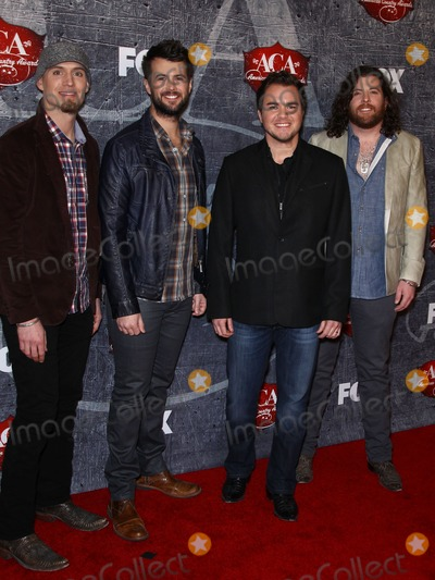 Chris Thompson Photo - 10 December 2012 - Las Vegas Nevada -  The Eli Young Band Jon Jones Chris Thompson Mike Eli James Young  2012 American Country Awards at Mandalay Bay Hotel and Casino  Photo Credit MJTAdMedia