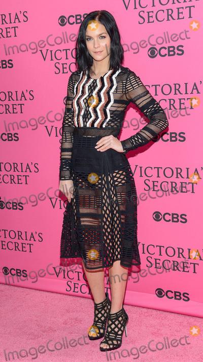 Victorias Secret Photo - November 11  2015 - New York NY - Leigh Lezark 2015 Victorias Secret Fashion Show Pink Carpet Photo Credit Mario SantoroAdMedia