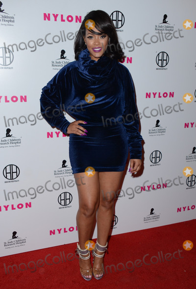 Malaysia Pargo Photo - 09 February  - Hollywood Ca - Malaysia Pargo Arrivals for the NYLON Magazine Pre-Grammy Party held at No Vacancy Photo Credit Birdie ThompsonAdMedia