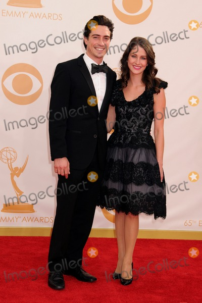 Michelle Mulitz Photo - 22 September 2013 - Los Angeles California - Ben Feldman Michelle Mulitz 65th Annual Primetime Emmy Awards - Arrivals held at Nokia Theatre LA Live Photo Credit Byron PurvisAdMedia