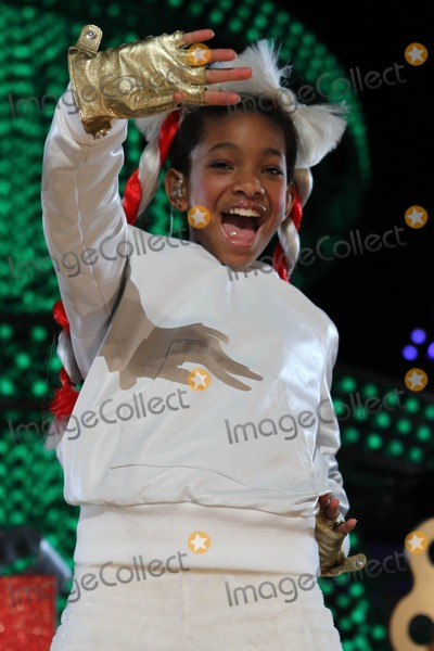 Willow Smith Photo - 4 December 2010 - Los Angeles CA - Willow Smith The Holiday Tree Lighting At LA Live  Opening Of LA Kings Holiday Ice held At LA Live Photo Kevan BrooksAdMedia