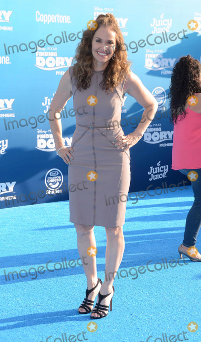 Amy Brenneman Photo - 08 June 2016 - Hollywood Amy Brenneman Arrivals for the  World Premiere Of Disney-Pixars Finding Dory held at the El Capitan Theater Photo Credit Birdie ThompsonAdMedia