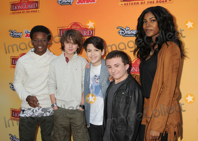 Atticus Shaffer Photo - 14 November 2015 - Burbank California - Dusan Browns Max Charles Joshua Rush Atticus Shaffer Diamond White The Lion Guard Return Of The Roar Los Angeles Premiere held at Walt Disney Studios Photo Credit Byron PurvisAdMedia