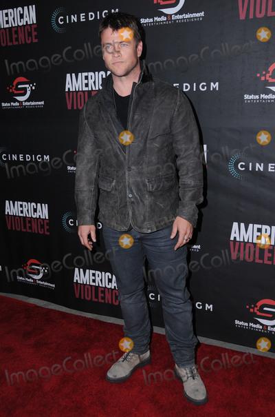 LUKE HEMSWORTH Photo - 25 January 2017 - Hollywood California - Luke Hemsworth American Violence Los Angeles Premiere held at The Egyptian Theater Photo Credit Birdie ThompsonAdMedia