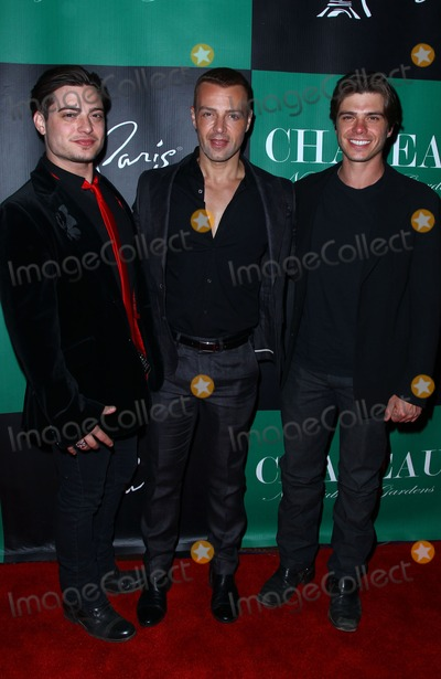Andy Lawrence Photo - 28 April 2012 - Las Vegas Nevada - Andy Lawrence Joey Lawrence Mathew Lawrence  Joey Lawrence celebrates his birthday at Chateau Nightclub  Gardens inside Paris Las Vegas  Photo Credit MJTAdMedia