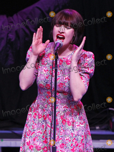 Lorna Thomas Photo - February 9 2013 - Atlanta GA - UK-based Folk band Skinny Lister on tour supporting Flogging Molly made a stop at The Tabernacle in Atlanta GA where they performed for a sold-out crowd Their performance included crowd-surfing by bassist Michael Camino and tour managerdrummer Rosco Logan as they brought the energy levels up in the venue Photo credit Dan HarrAdMedia