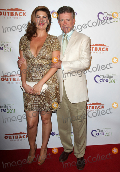 Alan Thicke Photo - 13 December 2016 - Burbank California - Alan Thicke beloved TV dad and real-life father of RB and pop superstar Robin Thicke died Tuesday at age 69 of a heart attack while playing hockey with his 19 year-old son Carter Thicke File Photo 23 July 2011 - Beverly Hills California - Alan Thicke (R) and Girlfriend Tanya Callau 13TH Annual Design Care Benefiting the HollyRod Foundation Held At The Marciano Residence Photo Credit Kevan BrooksAdMedia